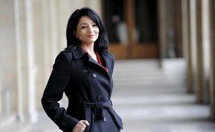 Jeannette Bougrab, nouvelle présidente de la Halde, le 24 mars 2010 à Paris.