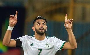 Riyad Mahrez a marqué le but du 2-0 contre la Guinée