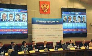 Vladimir Poutine a été officiellement proclamé élu au premier tour de la présidentielle russe avec 63,6% des suffrages par la commission électorale centrale mercredi.