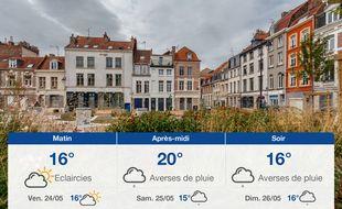 Météo Lille: Prévisions du jeudi 23 mai 2019