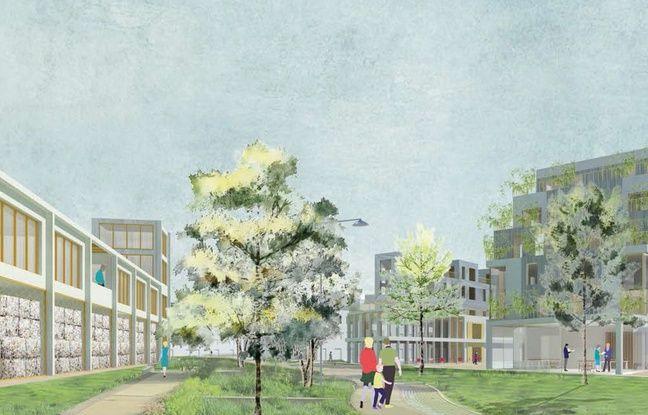 Une des voies vertes imaginées par l'agence JAGG dans le cadre d'Euopan.