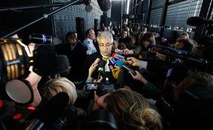 Fathi Benbrahim, avocat de Tony Meilhon, lors du procès d'asises à Nantes en juin 2013.