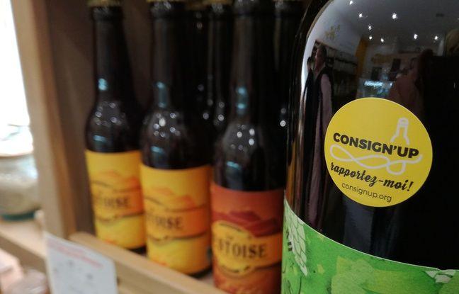 L'association toulousaine Consign'UP lance une expérimentation autour de la consigne des bouteilles en verre.