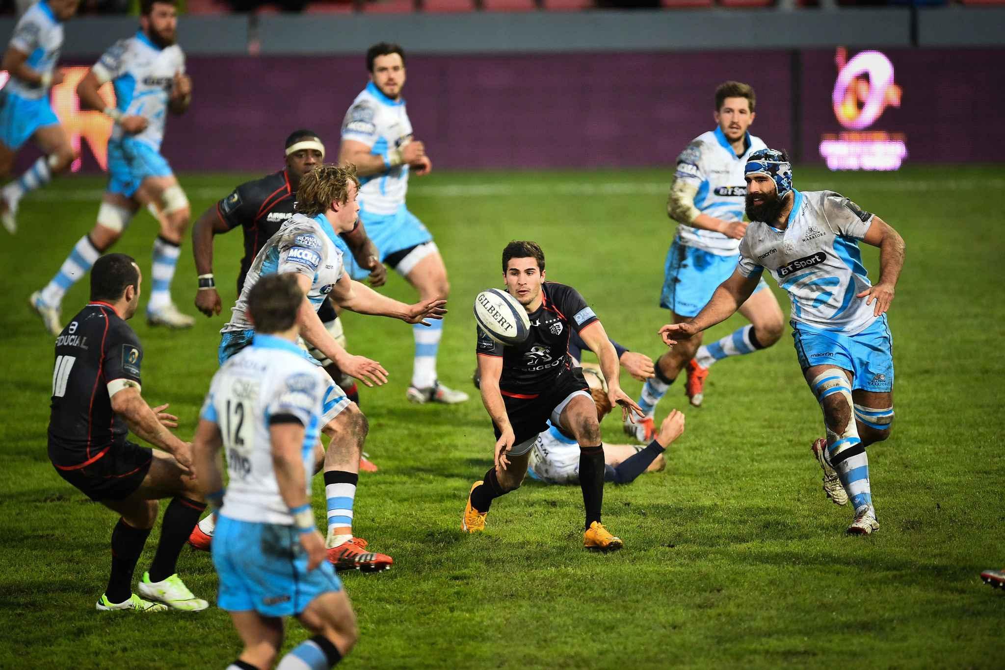 Coupe d 39 europe le stade toulousain a r ussi son pari d 39 une charni re doussain b zy fait - Retransmission coupe europe rugby ...