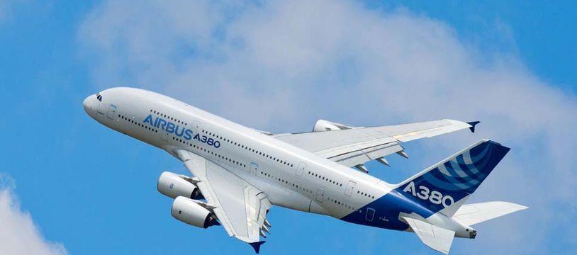Un A380 en vol.