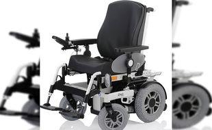 C'est un fauteuil roulant électrique de ce type que Cliff s'est fait dérober (illustration).