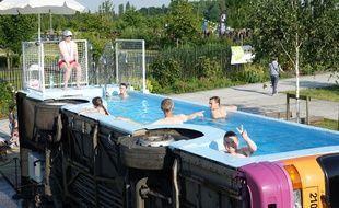 Le bus -piscine a connu un vrai succès dans le bassin minier