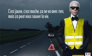 DECES DE KARL LAGERRFELD 310x190_karl-lagerfeld-affiche-campagne-securite-routiere