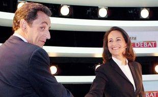 """""""A l'issue de ce débat"""" """"les premières enquêtes d'opinion me donnaient gagnante, quand Nicolas Sarkozy est sorti, il a eu le sentiment, il l'a d'ailleurs dit, d'avoir perdu, ses troupes et ses soutiens aussi"""", a déclaré Ségolène Royal."""