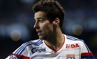 Yoann Gourcuff lors de Lyon-Nantes le 22 février 2015.