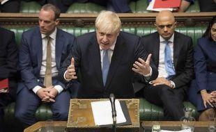 Le premier ministre britannique Boris Johnson s'adresse aux députés le 25 juin 2019.