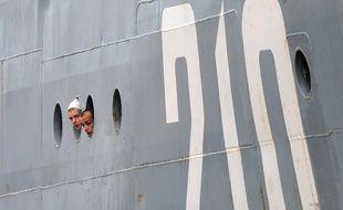 Les marins russes se forment au fonctionnement du navire