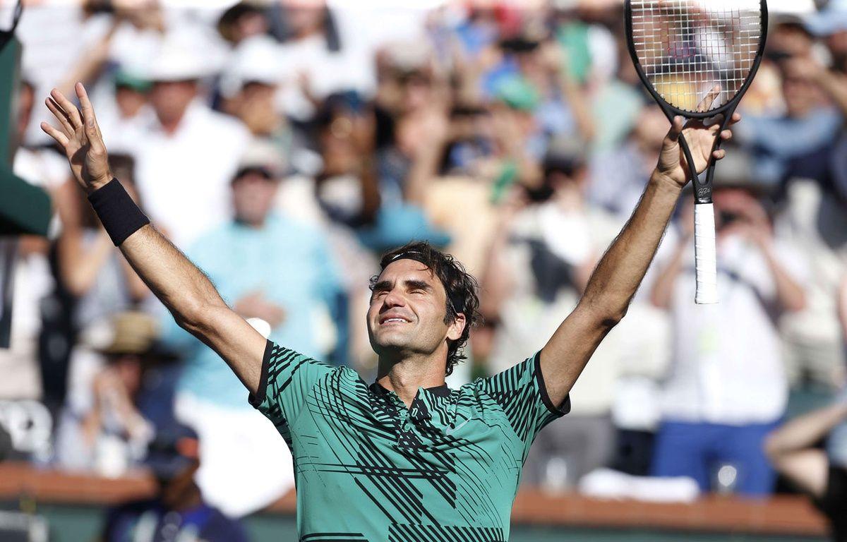 Roger Federer remporte Indian Wells – Baus/CSM/Shutterstock/SIPA