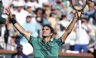 Roger Federer remporte Indian Wells
