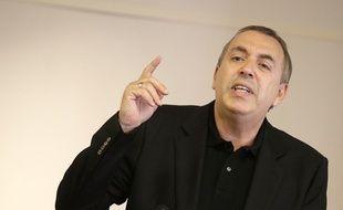 Jean-Marc Morandini lors de sa conférence de presse, le 19 juillet 2016.