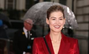 L'actrice Rosamund Pike