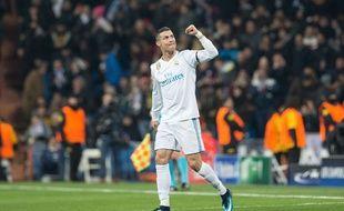 Cristiano Ronaldo, avec le maillot du Real Madrid