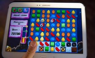 Candy Crush Saga, le jeu développé par British King Digital Entertainment le 6 mars 2014
