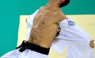 Le judoka français Benjamin Darbelet, le 10 août 2008 lors des Jeux de Pékin.