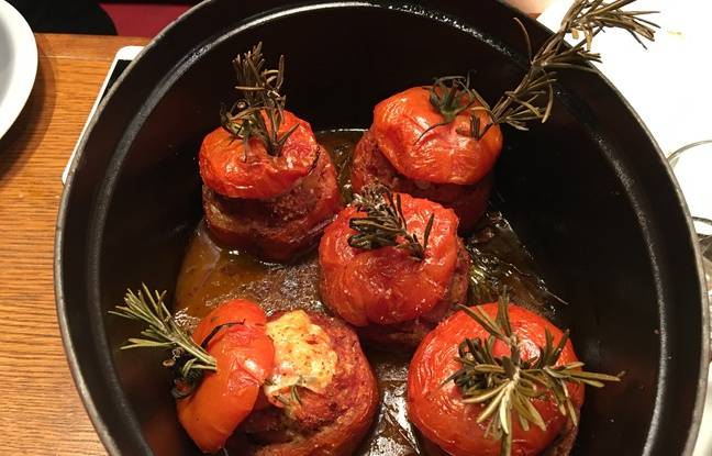 Les tomates farcies de la Cantine du Troquet