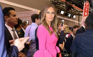 La First Lady Melania Trump lors de la campagne présidentielle