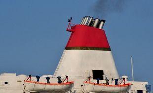 Le Royaume-Uni veut réduire à zéro les émissions du transport maritime mondial d'ici 2050 (illustration).