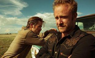 Chris Pine et Ben Foster dans Comancheria de David MacKenzie
