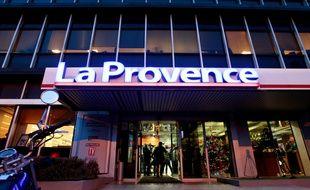 Le siège du journal La Provence à Marseille.