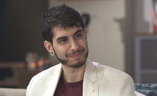 Jonas Ben Ahmed, comédien transgenre qui joue dans «Plus Belle la Vie».