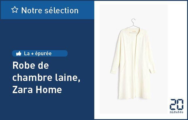 Robe de chambre laine, de Zara Home