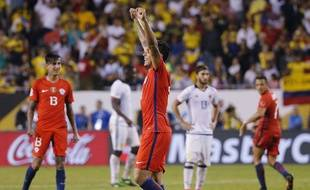 Les Chiliens après leur victoire en demi-finale de la Copa America