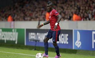 Idrissa Gueye à Lille le 20 aout 2014