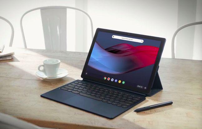 La tablette qui se prend pour un ordinateur potable: Google Pixel Slate.