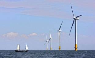 Un projet de parc éolien offshore est prévu en baie de Saint-Brieuc à l'horizon 2020.