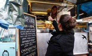 Le Food Truck Trop Chou sillonne les marchés lyonnais depuis fin 2014.