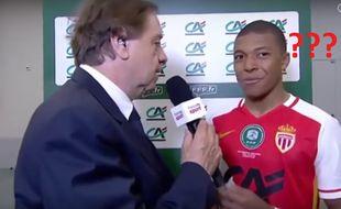 Le moment où Mbappé doit expliquer qu'il n'est pas Taylor Moore