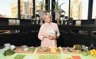 Martha Stewart lors d'une présentation  commerciale, le 6 mai 2015 à New York