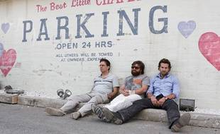 Image tiré du film «Hangover» avec Bradley Cooper et Zak Galafinaniakis