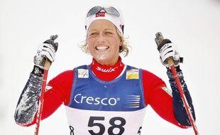 La fondeuse norvégienne Vibeke Skofterud