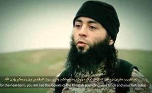 Capture d'écran de la vidéo de l'exécution de Daesh diffusée le 10 mars 2015.