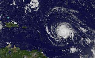 L'ouragan Irma approche des Antilles, le 4 septembre 2017.