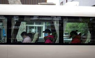Illustration d'un bus en Chine.