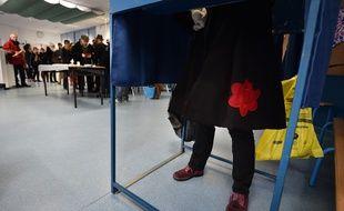 Bureau de vote à la primaire à gauche, 22 janvier 2017
