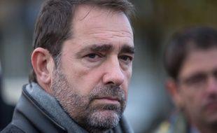 Christophe Castaner, ministre de l'Intérieur, le 9 novembre 2018 dans l'Essonne.