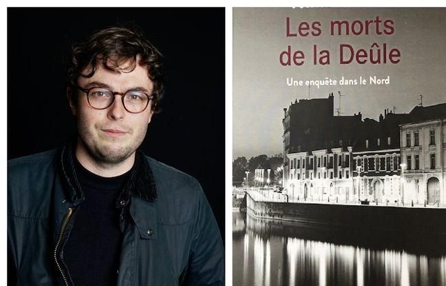 Tomas Statius, auteur du livre «Les morts de la Deûle», sorti le 20 janvier 2021.