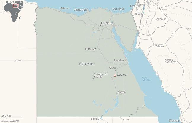 Louxor (Egypte).
