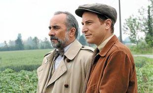 Larosière (Antoine Duléry) et Lampion (Marius Colucci), ce soir sur France 2.