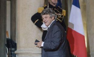 Jean Louis Borloo, ancien ministre et ancien président de l'UDI, à l'Elysée en décembre 2016.