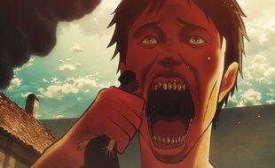 Un titan dans la série d'animation