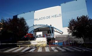 Le Palacio de Hielo va être transformé en morgue à Madrid.